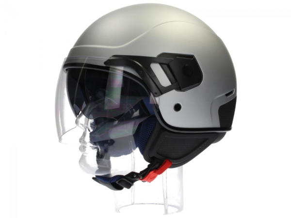 Piaggio PJ Jet helmet grey, matt