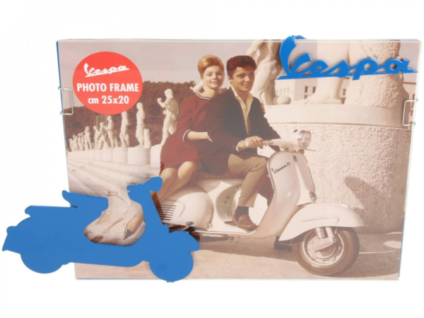 Vespa photo frame