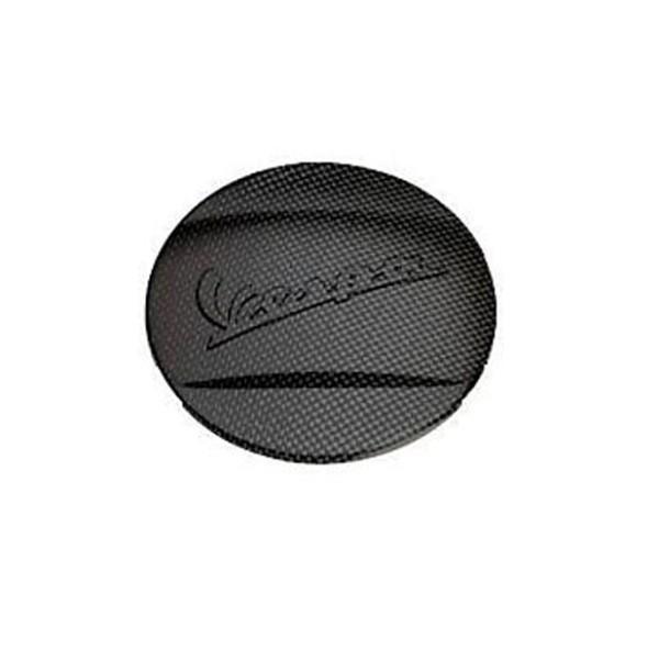Original Front Fender Crest Carbon Look Vespa GTS Super