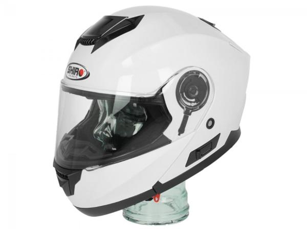Shiro Flip Up Helmet , SH507, white - 128.0507040XS
