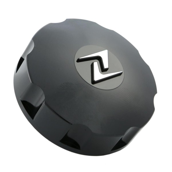 Black tank cap, Zelioni for Vespa ET4 / LX / LXV / S / Primavera / Sprint / GTS / GTS Super / GTV / GT