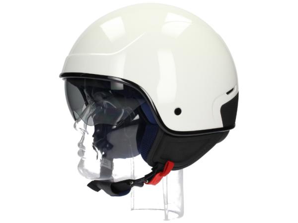 Piaggio PJ1 Jet helmet white