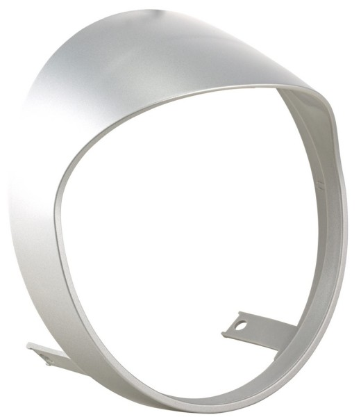 Headlamp rim for Vespa GTS/GTS Super HPE 125/300 ('19-), silver matt