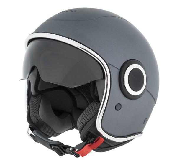 Vespa Jet Helmet VJ1 titan gray matt