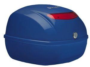 Original top box Vespa LX / S / PX - blue 244/A