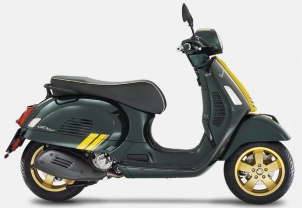 Decor set, Vespa GTS Racing Sixties - yellow