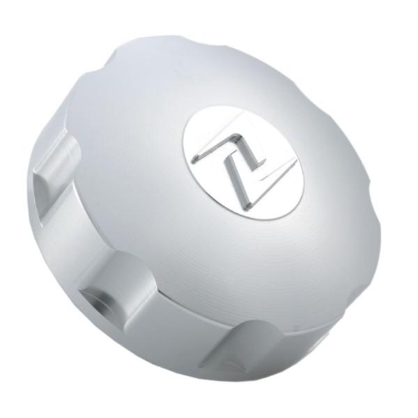 Tank cap silver, Zelioni for Vespa ET4 / LX / LXV / S / Primavera / Sprint / GTS / GTS Super / GTV / GT