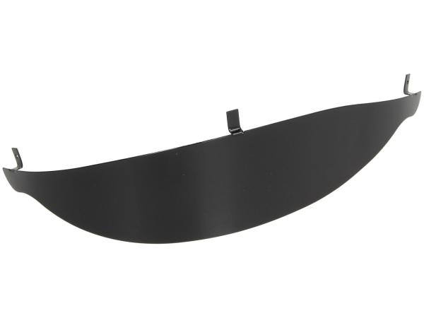 Headlight cover, black Vespa GT, GTS until 2014