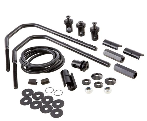 Mounting Material Flyscreen Piccolo/Sportivo for Vespa GTS/GTS Super/GT/GT L 125-300ccm, black