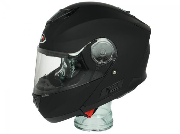Shiro Flip Up Helmet, SH507, black matt