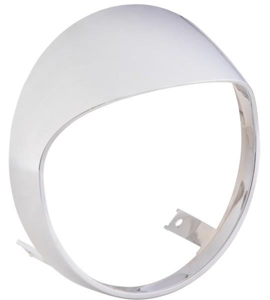 Headlamp rim for Vespa GTS/GTS Super HPE 125/300 ('19-), chrome