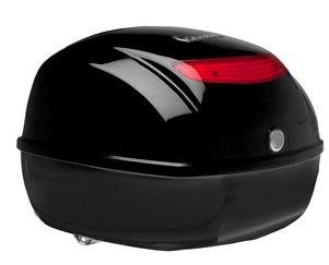 Original top box Vespa S / PX - glossy black 094