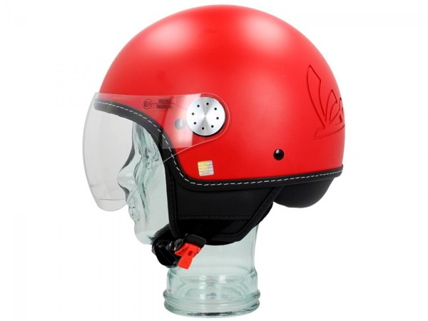 Vespa Jet Helmet Visor 3.0 red profondo