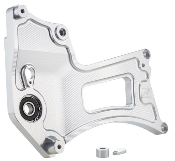 Swing arm MK II for Vespa GTS/GTS Super/GTV/GT, silver