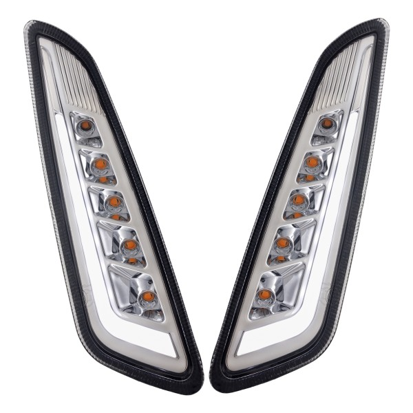 Indicator kit front left / right LED tinted for Vespa Primavera / Sprint 125-150ccm SIP Style