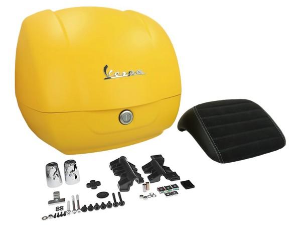Original top box Vespa GTS - matt yellow / yellow jealousy 974/A