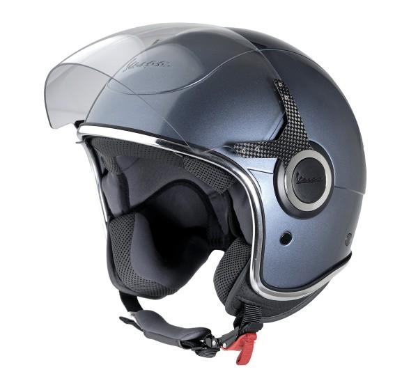 Vespa Jet Helmet VJ gray dolomiti