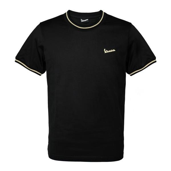 75 years - Vespa T-shirt black