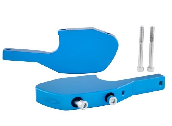 Foot pegs adapter for Vespa GTS/GTS Super/GTV/GT 60/GT/GT L 125-300ccm, matt blue