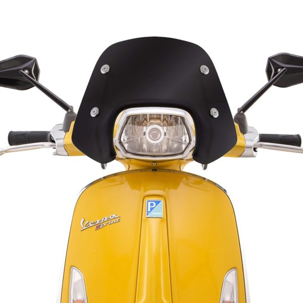 Ermax Piccolo windshield for Vespa Sprint - black tinted