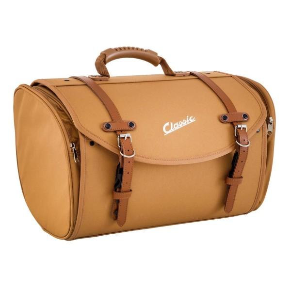 """Classic"" bag for Vespa - brown, nylon"