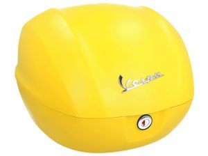 Original top box Vespa Sprint matt yellow / yellow jealousy / 974/A