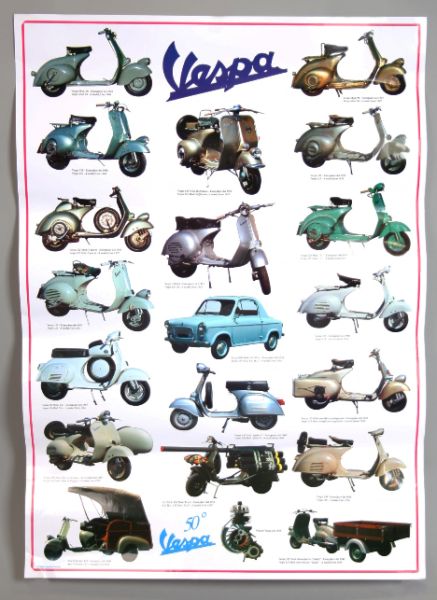 Vespa poster, Vespa 2nd series