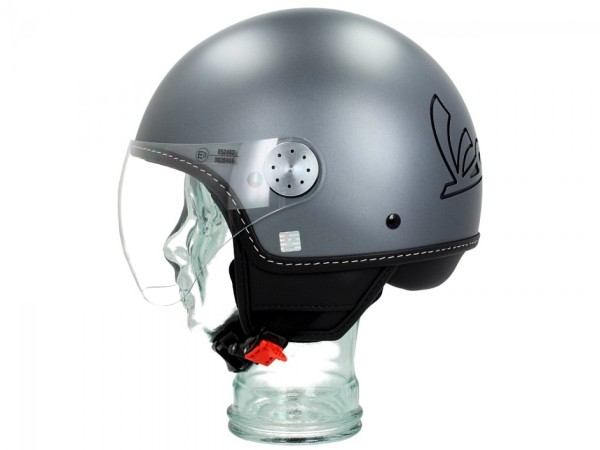 Vespa Jet Helmet Visor 3.0 gray titan