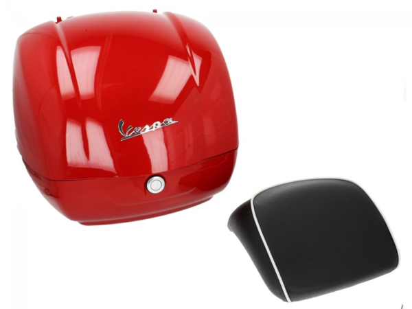 Original Topcase für Vespa GTS - R7 Rot Dragon Passione 894 36L My 19