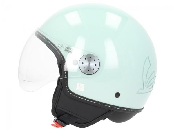 Vespa Jet Helmet Visor 3.0 Green Bosco
