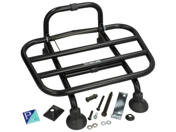 Folding front rack black Vespa Primavera / Sprint
