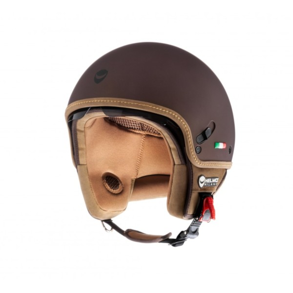 Helmo Milano Demi Jet, Puro styles, brown, matte