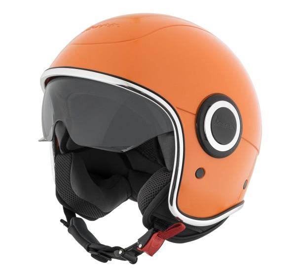 Vespa Jet Helmet VJ1 orange tramonto