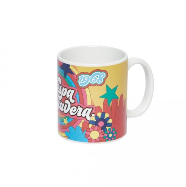 Vespa mug Anniversario yellow