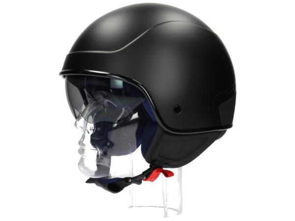 Piaggio PJ1 Jet helmet black, matt