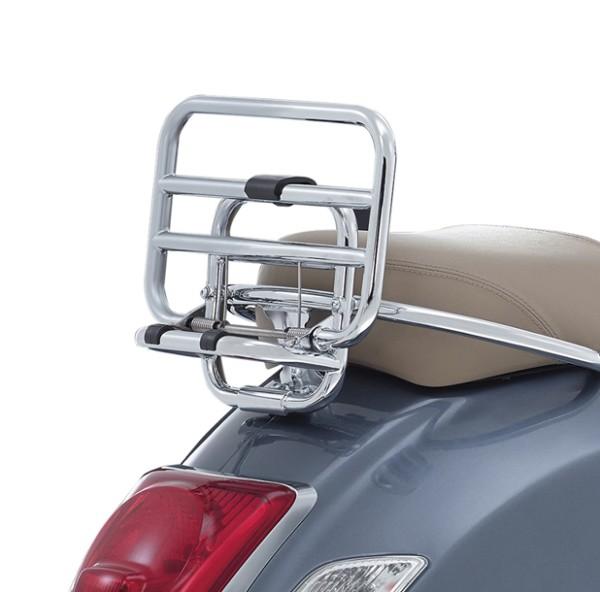 Original Chromed Rear Rack Vespa GTS / SUPER