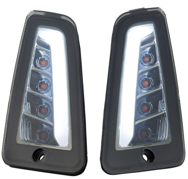 Indicator kit front left/right for Vespa GTS/GTS Super/GTV 125-300ccm ('14-), toned