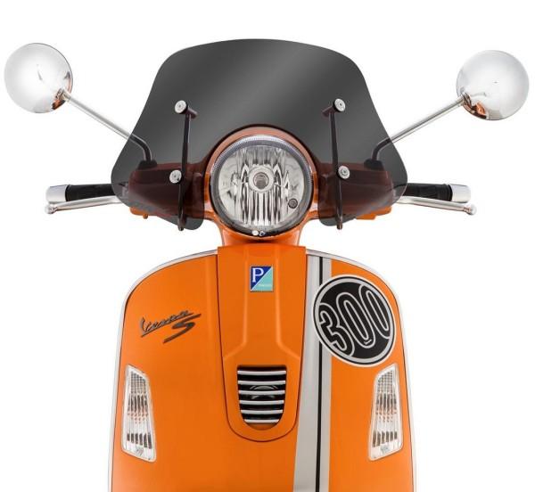 Flyscreen Piccolo for Vespa GTS/GTS Super/GT/GT L 125-300ccm, toned