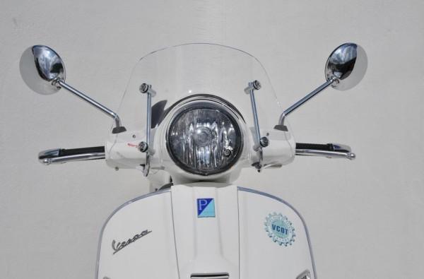 Flyscreen Piccolo for Vespa GTS/GTS Super/GT/GT L 125-300ccm, transparent
