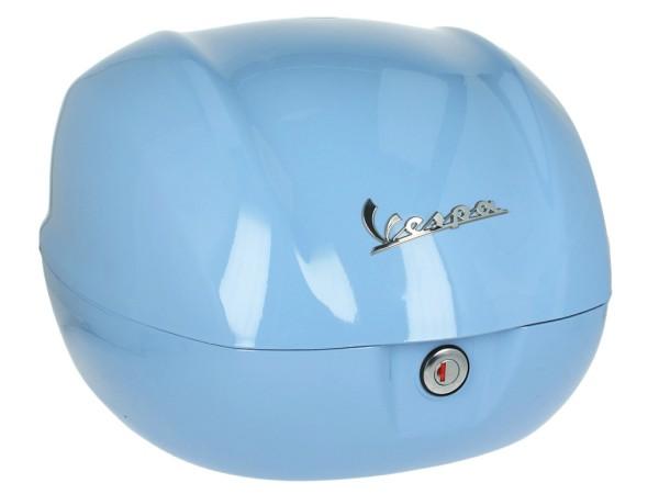 Original top case 32 l. for Vespa Primavera / GTS azurro incanto blue 279 / A
