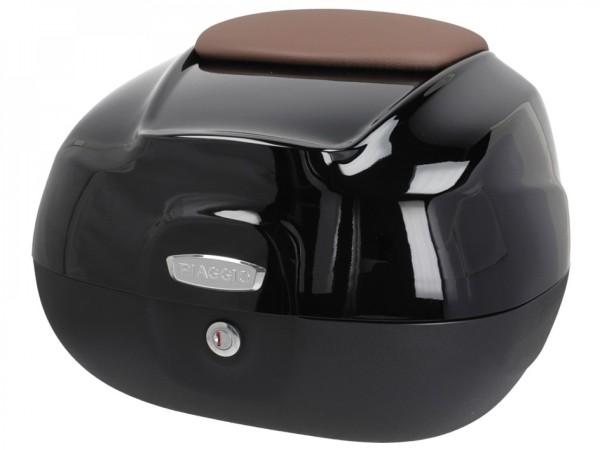Top Case 37L for Beverly Original Piaggio - NERO LUCIDO 90/B - CM277518