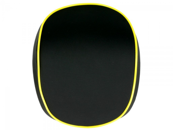 Original back rest for Topcase Vespa Elettrica giallo/yellow