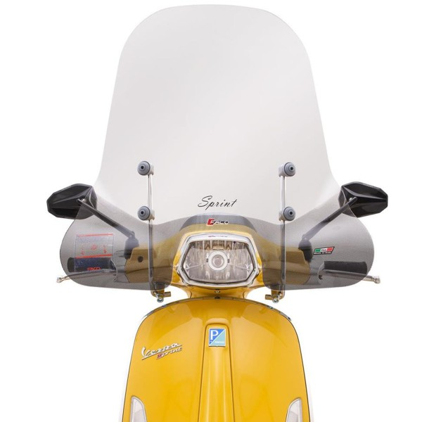 Windshield Faco high for Vespa Sprint - clear