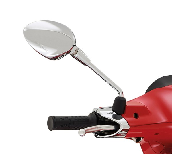 Mirror right chrome for Vespa Sprint 50-150ccm 2T / 4T