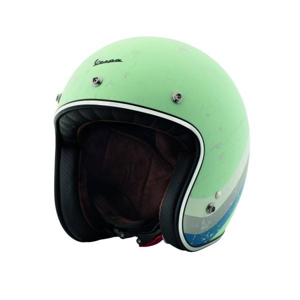 Vespa Heritage Jet helmet ACQUAMARINA