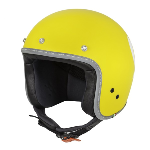 Vespa Color Jet Helmet yellow