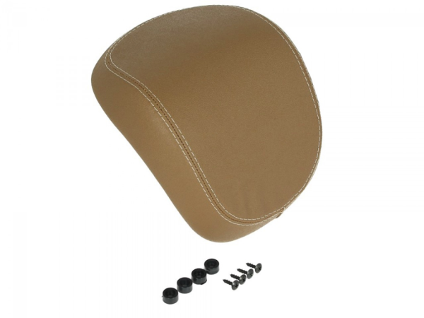 Original Backrest Top Case Vespa Primavera Light Brown - CM273111
