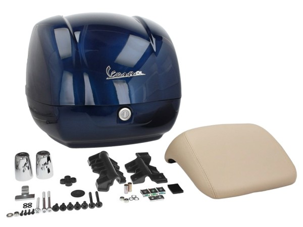 Original top box Vespa GTS - blue midnight 222/A (from 2014)