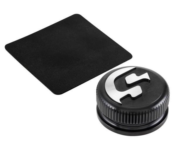 Tank cap for Vespa, black