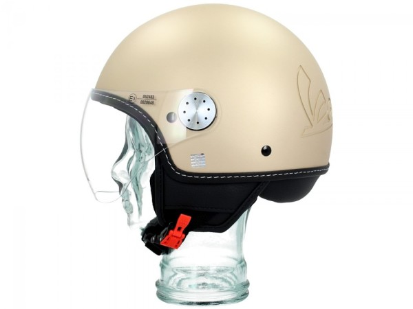 Vespa Jet Helmet Visor 3.0 beige sahara